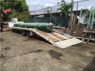 Plataforma con rampa hidraulica, Equipo Construccion Puerto Rico