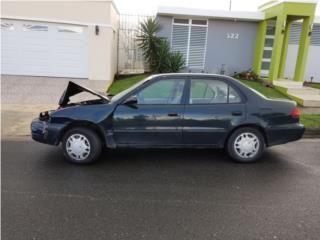 Toyota corolla 99 chocado, Toyota Puerto Rico