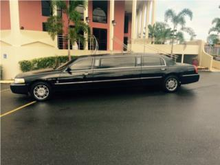 Limo Strech Lincoln Town Car 2007 15mil , Lincoln Puerto Rico