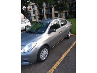 Nissan Versa 2014 Automatico Se regala cuenta, Nissan Puerto Rico