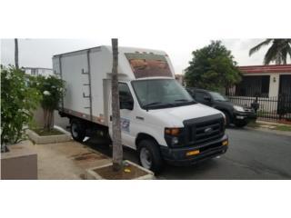 Camion caja seca 12' con lifter 2009, Ford Puerto Rico