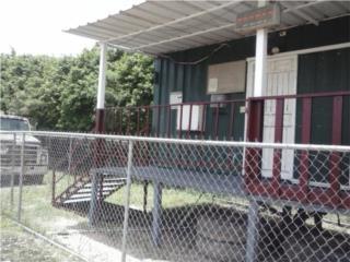 Vagón oficina y plataforma de 40 pies, Equipo Construccion Puerto Rico