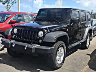 Jeep Wrangler 2017, Jeep Puerto Rico