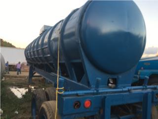 Trailer con tanque de agua de 6500 galones, Otros Puerto Rico