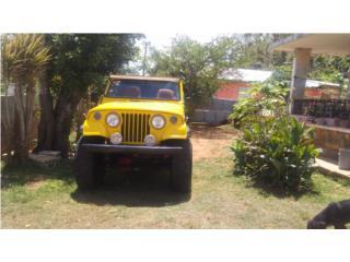 Jeep comander 1970, Jeep Puerto Rico