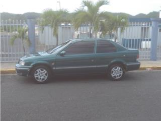 Toyota tercel 99 standar aire, Toyota Puerto Rico