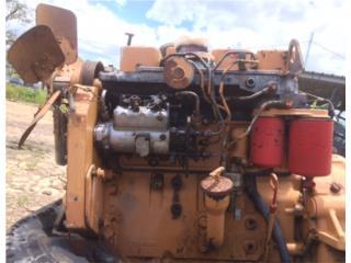 Motor Cummins 4 cilindros, Equipo Construccion Puerto Rico