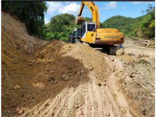 Se regala relleno y tosca, Equipo Construccion Puerto Rico