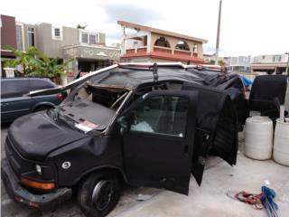 Motor y transmisión 6 cil., Chevrolet Puerto Rico