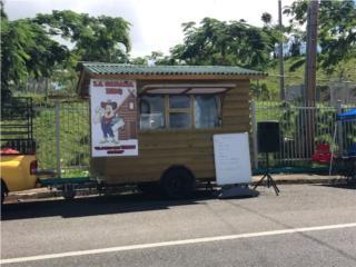 Carreton rústico en forma de cabaña equipado, Autos Antiguos Puerto Rico