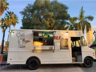 Food truck pizza, Ford Puerto Rico