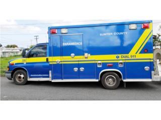 Ambulancia GMC Tipo III, GMC Puerto Rico