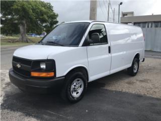 Chevrolet Express 2500, Chevrolet Puerto Rico