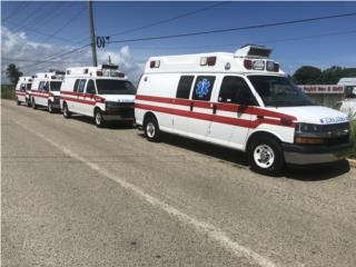 Ambulancia Tipo 2 Wheeled Coach Super Led, Chevrolet Puerto Rico