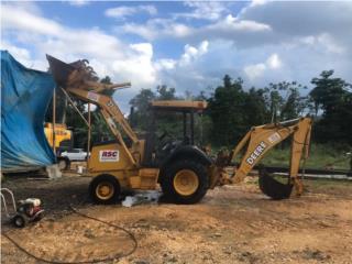 Digguer John Deere , Equipo Construccion Puerto Rico