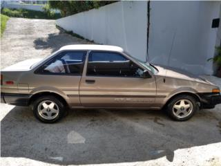 Toyota Corolla 1986 STD aire, Toyota Puerto Rico