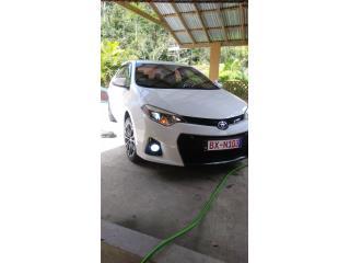 Toyota corolla 2015 TipoS, Toyota Puerto Rico