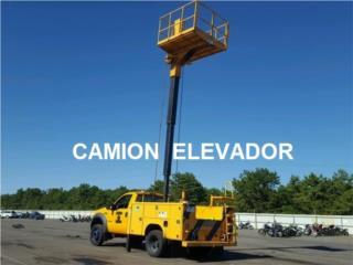 CAMION ELEVADOR DIESEL, Equipo Construccion Puerto Rico