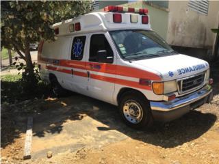 Ambulancia FORD 2005 diesel, Ford Puerto Rico