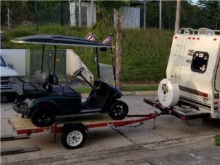 Golf Cart Trailer & Se Pliega para Guardarse, Carritos de Golf Puerto Rico