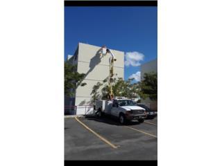 Camion canasto 42 pies de altura., Ford Puerto Rico