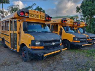 Escolares, Chevrolet Puerto Rico