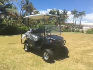Ezgo lifted s4 electric 2019 con radio , Carritos de Golf Puerto Rico