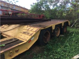 Plataforma phelan 3-trenes -60 tons. , Equipo Construccion Puerto Rico