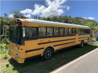 Guagua escolar,  Puerto Rico