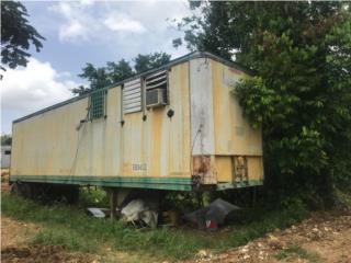 Vagón de 40 pies echo oficina, Equipo Construccion Puerto Rico
