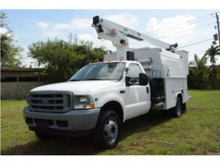 2002 Ford F450 Camion Canasta Empalmar Cable, Ford Puerto Rico