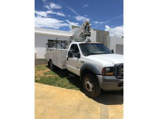 Ford 450 bucket truck diesel, Ford Puerto Rico
