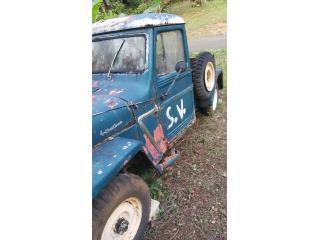 SE VENDE JEEP 1962. EN $1,600.00., Jeep Puerto Rico