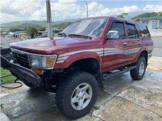 Toyota 4 Runner 1992, Toyota Puerto Rico