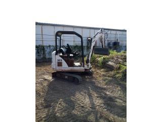 Mini excavadora bobcat 323 2005, Equipo Construccion Puerto Rico