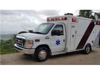 Ambulancia en P. R. ready , Ford Puerto Rico