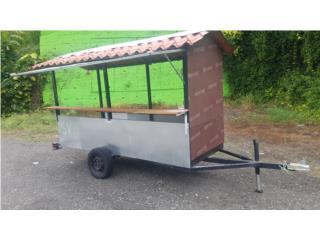 Carreton para vender Lechon asado, Suzuki Puerto Rico