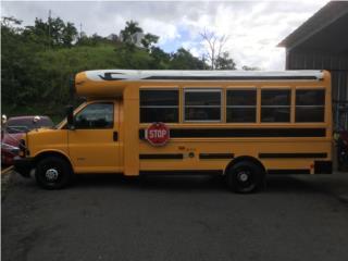 Guagua Escolar Moderna Diesel con Rampa , Blue Bird Puerto Rico