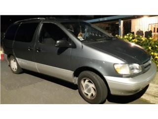 Toyota siena 2000, Toyota Puerto Rico