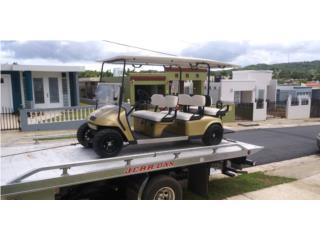 Ezgo 6 personas gasolina buenas condiciones , Carritos de Golf Puerto Rico