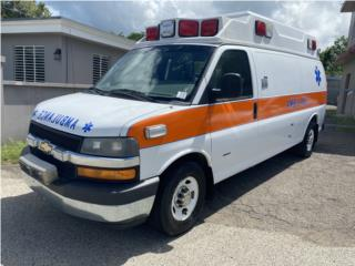 Ambulancia Tipo 2 Wheeled Coach Importada, Chevrolet Puerto Rico