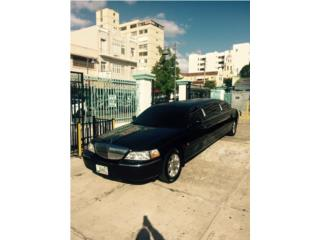 Limo Town Car 2007 6pax $8500, Lincoln Puerto Rico
