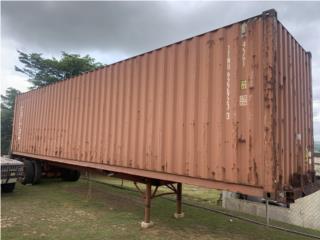 Vagón 40 pies con chasi en 5,000 , Kenworth Puerto Rico