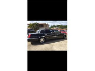 Limosina Lincoln Town Car Executive negra de 1999, Lincoln Puerto Rico