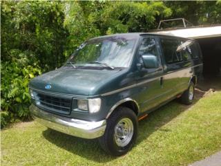 Van 350 con rampa de impedido, Ford Puerto Rico