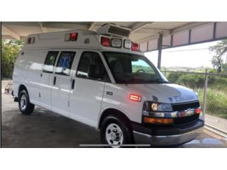 Ambulancia Tipo 2 Wheeled Coach, Chevrolet Puerto Rico