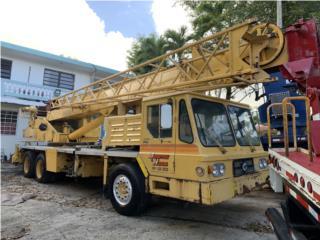 Grove 28 ton, Equipo Construccion Puerto Rico