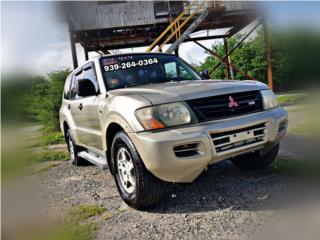 Mitsubishi Montero 2001 4x4 , Mitsubishi Puerto Rico