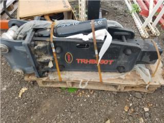 Hammer Mini Excavadora 3 a 7 Toneladas, Equipo Construccion Puerto Rico