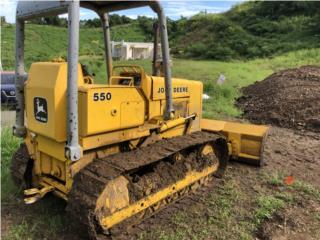 John Deere 550 , Equipo Construccion Puerto Rico